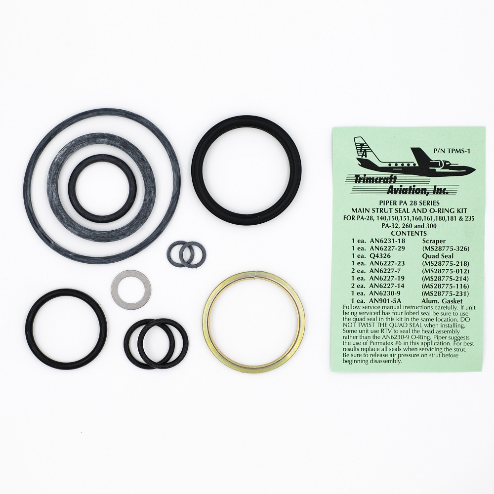 TPMS-1 Piper PA28 and PA32 main strut service kit