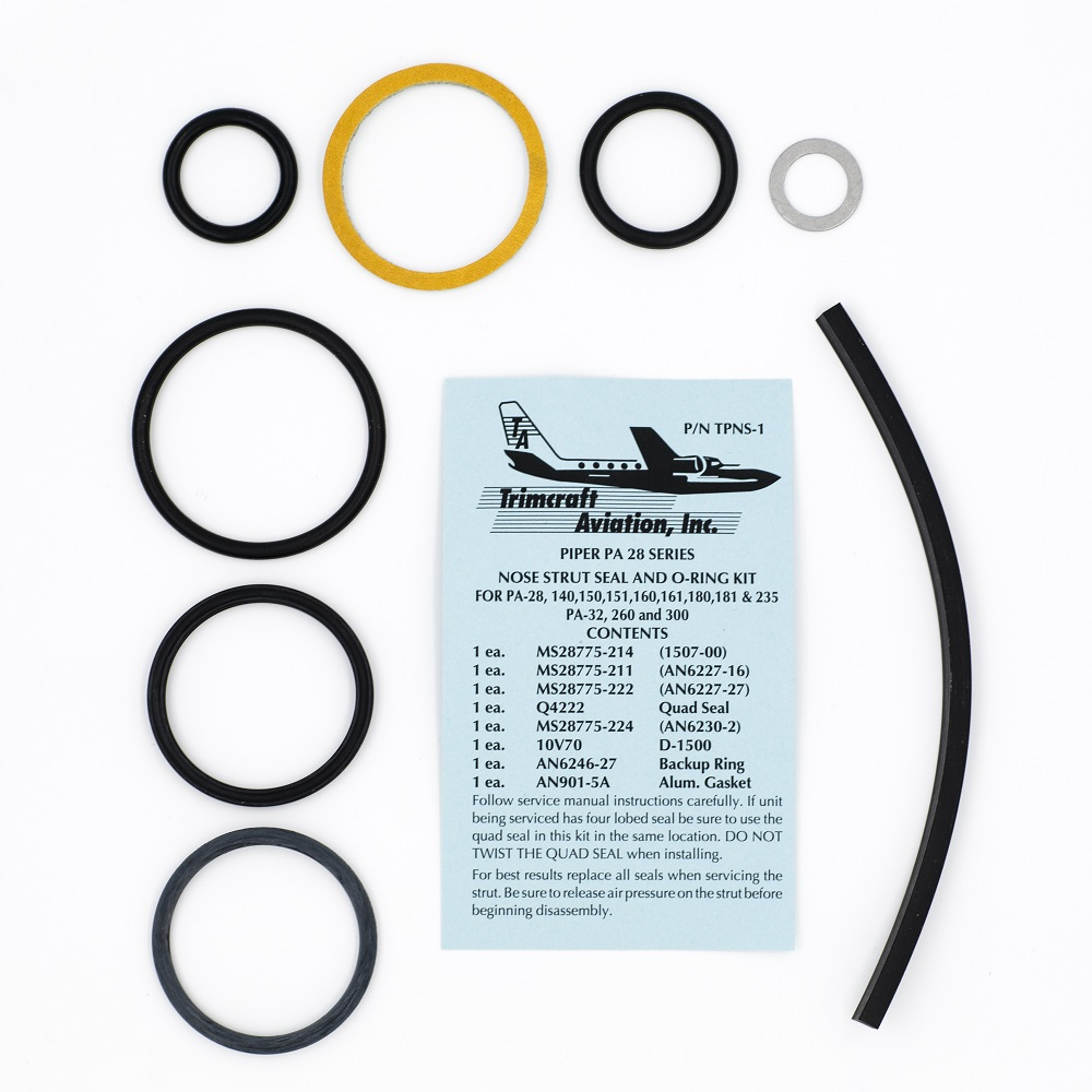 TPNS-1 Piper nose strut seal kit