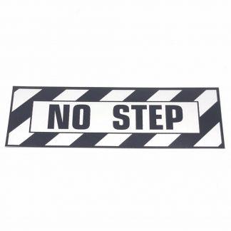 T-005 NO STEP PLACARD