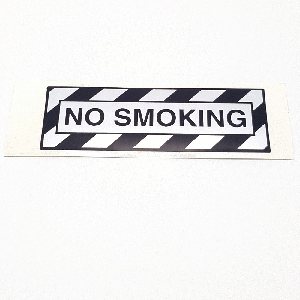 T-015 No Smoking placard