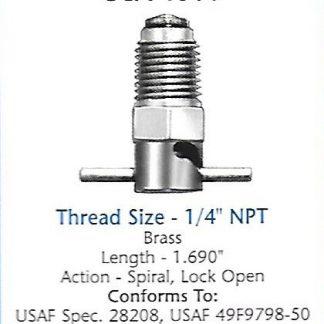 CCA1300 Curtis drain valve