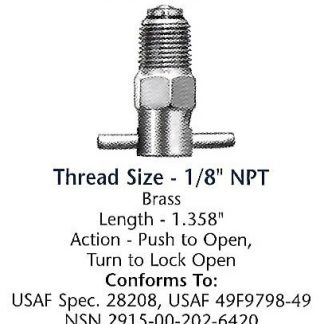 CCA1550 Curtis drain valve