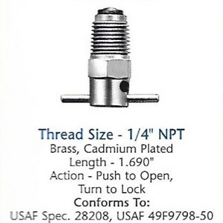 CCA3600 Curtis drain valve