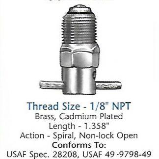 CCA36150 Curtis drain valve